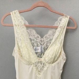 Soft Surroundings Lace Cream Top